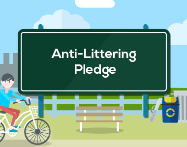 Anti Littering Pledge