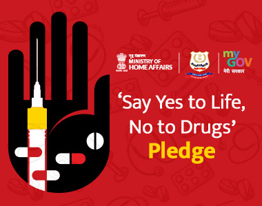 Say Yes to Life, No to Drugs Pledge