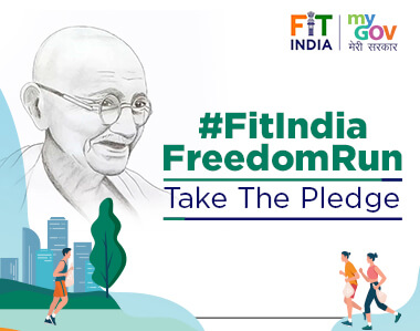 Fit India Freedom Run Pledge