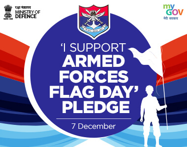 I Support Armed Forces Flag Day Pledge