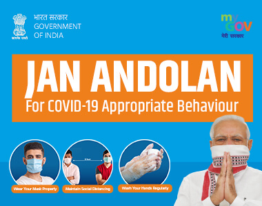 Jan Andolan for COVID-19 Appropriate Behaviour Pledge