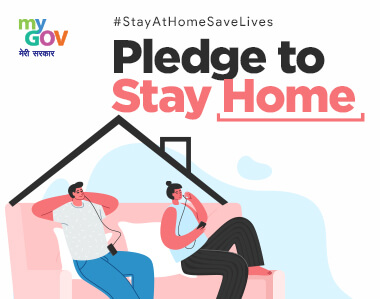 Stay At Home, Save Lives Pledge